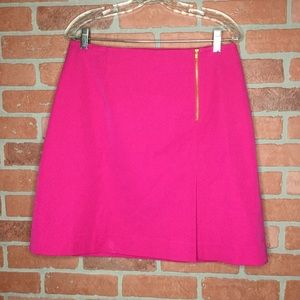 Lilly Pulitzer pink skirt size 14 zipper (3O46)